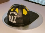 Fireman's Helmet - The Twisted Sifter Cake Shoppe