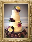Boone Tavern Buttercream and Floral Wedding cake